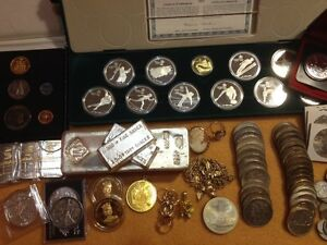 Buying ALL Types of Gold & Silver: COINS Jewellery Bullion $$$ Prince George British Columbia image 1