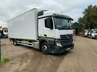 2016 Mercedes Actros 1824 Box Van