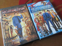 DVD, Movie - Night at the Museum Lot of 2 movies, Ben Stiller