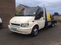 2004 ford transit recovery truck 2.4 diesel +brand new engine+MOT