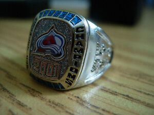 Colorado Avalanche STANLEY CUP HOCKEY RING - from Molson beer