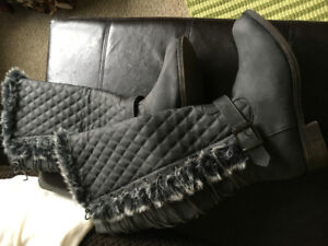 WOMENS LIGHTLY LINED BOOTS
