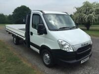 2014 Iveco Daily (Sprinter Transit Size) 35S11 2.3L 13ft Dropside, Lovely Cond.
