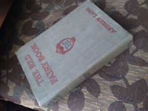 The Red Fairy Book from the early 1900's