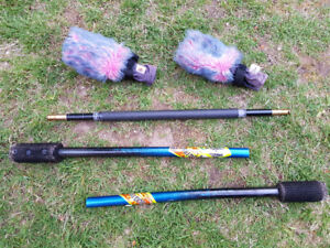3-Piece Fusion Fire Staff (Home of Poi)