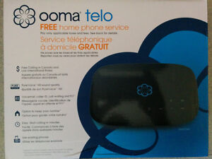 Ooma Telo VOIP Phone (internet phone) Monthly cost $5.11