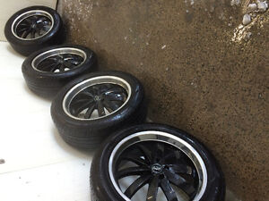 """20"""" All Season Tires and Rims - 255/50R20"""