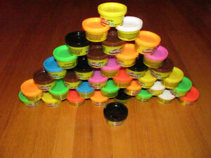 Play Doh,new,37 tubs for ages 2 and over (1 oz -20gram each)