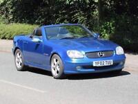 2002/02 Mercedes-Benz SLK200 Kompressor, LOW MILEAGE
