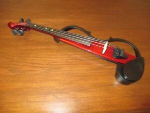Yamaha SV130 Silent Violin (Candy Apple Red)
