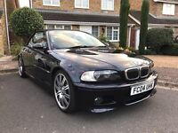 BMW M3 3.2 Sequential 2dr low mileage FSH+SAT NAV red leather