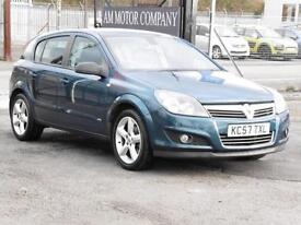 Vauxhall Astra 1.8i, 2007 SRI, 69 000 Miles, 5 Door Hatch, 6 Months AA Warranty