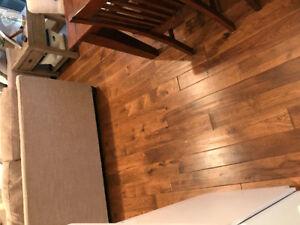 "Brand new 3/4"" hard wood flooring"