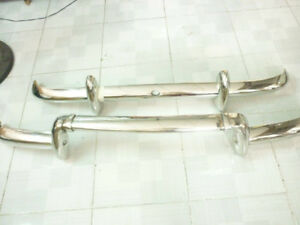 Renault Dauphine Bumper 1956-1967 in Stainless Steel