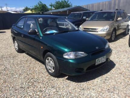1999 Hyundai Excel Sedan Beenleigh Logan Area Preview