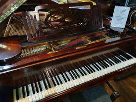 Grotrian steinweg 170 baby grand piano rosewood restored for sale