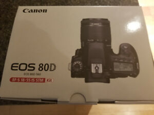 NEW Canon EOS 80D DSLR Camera with 18-55mm IS STM Lens Kit