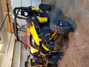 2014 Can Am Maverick XMR 1000 Side By Side with low hrs.