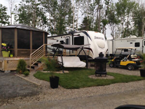 Camping Atlantide*** Roulotte Sprinter 2013**** Accessible