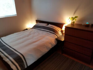 Bright Bedroom Available in Lynn Valley House