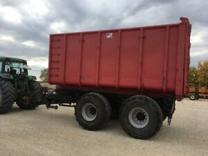 Grain and Silage Trailer