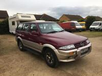 1999 Ssangyong Musso SPARES OR REPAIR