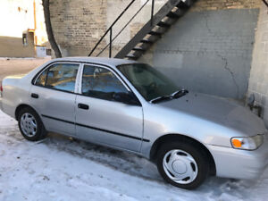2000 Toyota Corolla VE, New safety!!! nice condition
