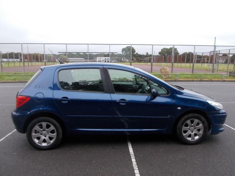 2006 Peugeot 307 1.6 16v COMPLETE WITH MOT HPI CLEAR WARRANTY INCLUDED