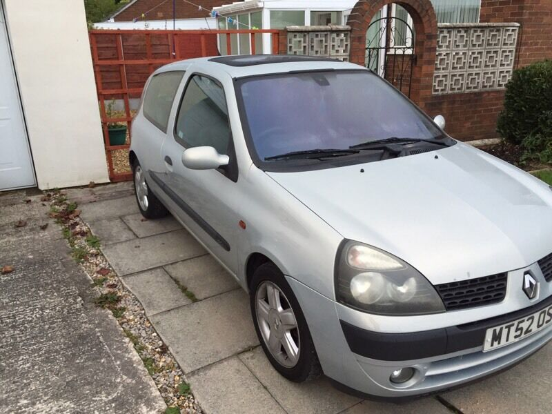Renault Clio diesel £695