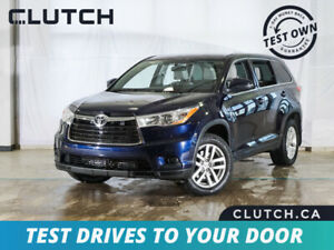2015 Toyota Highlander LE Finance for $117 Weekly OAC