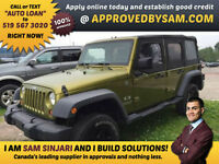 MILITARY GREEN WRANGLER X UNLIMITED 4x4 - APPROVEDBYSAM.OM