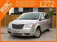 2009 Chrysler Grand Voyager 2.8 CRD Turbo Diesel Touring 6 Speed Auto 7-Seater M