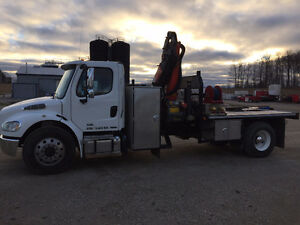2012 Freight Liner M2 106 /Palfinger PK 11001 Hydraulic Loader