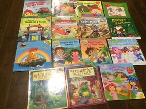 Lot of 15 Various Kids Softcover Books - Great condition!