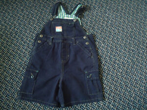 Boys Size 3 Short Cotton Overalls by Children's Place Kingston Kingston Area image 1