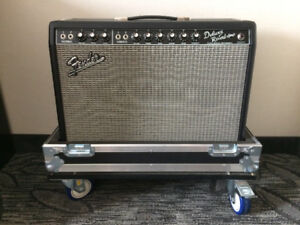Fender '65 Deluxe Reverb Reissue Guitar Amplifier + Upgrades