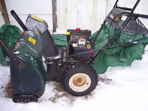"Yardworks Snowblower 10.5 Hp. 29"" cut"