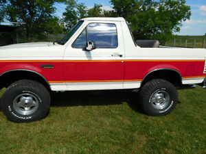 1995 Ford Bronco SUV, Crossover
