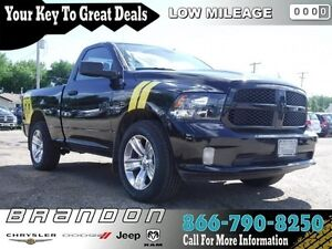 2016 Ram 1500 ST - Low Mileage, Bluetooth, Air Conditioning, Cru