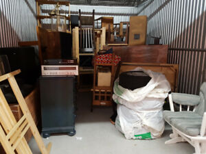 Storage locker contents for sale