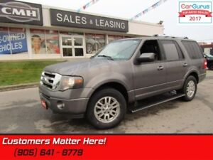 2012 Ford Expedition Limited  4X4, NAVIGATION, REAR CAMERA, SUNR