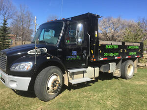 2007 Freightliner M2 with Landscaping Box