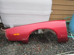Dodge Charger fiberglass fenders