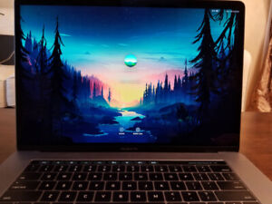 "2016 15"" MacBook Pro touchbar,  256GB SSD,  intel i7,  16GB ram,"