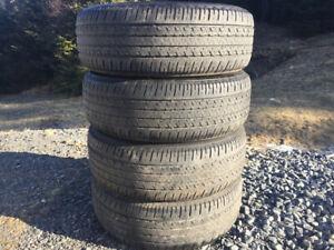 Four BridgeStone P205/60R16 Summer Tires