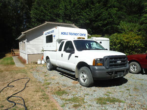 Mobile Treatment Centre - Certified Rollbar Equiped