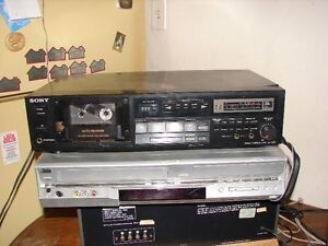 SONY TC-R303 cassette deck AUTO REVERSE Made in Japan