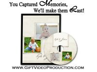 Your Baby Videos & Photos on Professional DVD