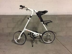 "Strida EVO Three Speed Folding Bike with 18"" wheels"