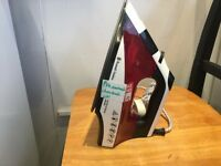 Russell Hobbs red and white Electric iron